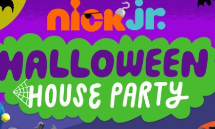 Nick Jr Halloween House Party Game