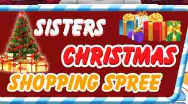 Elsa And Anna Christmas Shopping Spree Game