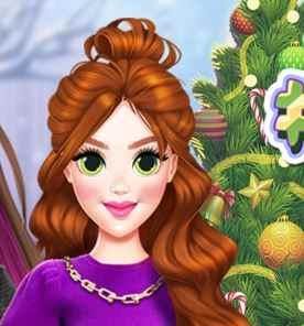 Princess Christmas Selfie Game