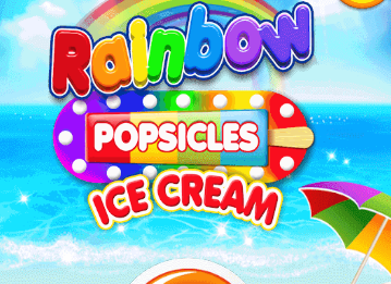 Rainbow Ice Cream And Popsicles Game