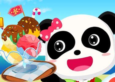 Animal Ice Cream Shop Game