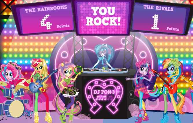 Equestria Rainbow Rock Game