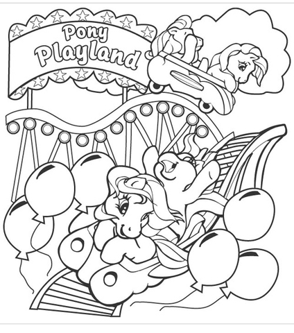 Pony Playland from My Little Pony Game