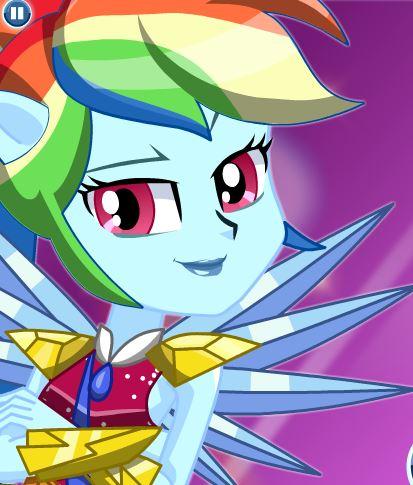 Crystal Guardian Rainbow Dash Game
