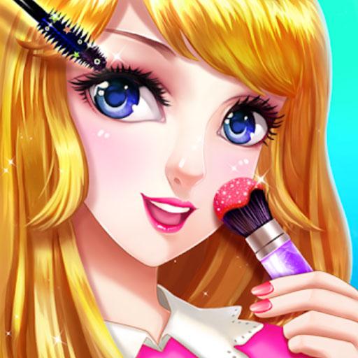 Anime Fashion Makeup Game