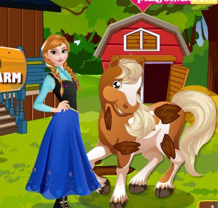 Anna At Horse Farm Game