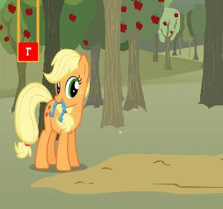 Apple Jack Horseshow Toss Game