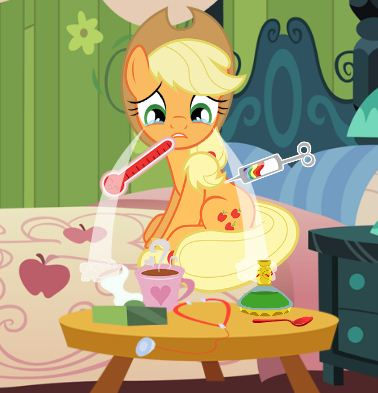Applejack Flu Treatment Game