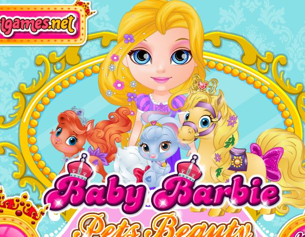 Baby Barbie Pets Beauty Pageant 2 Game