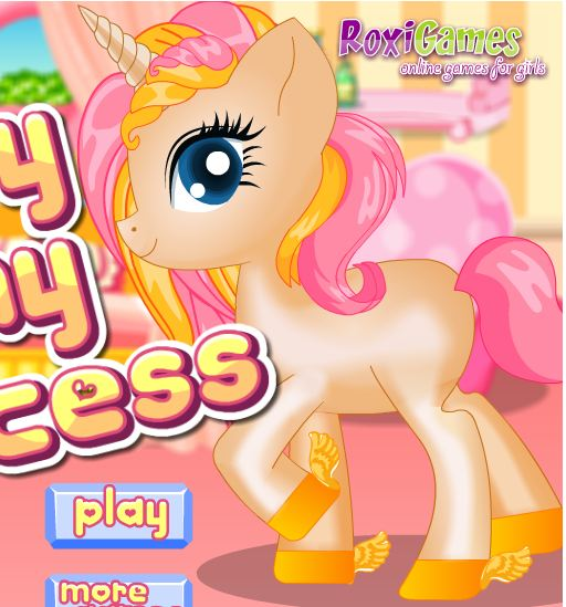 Baby Pony Princess Game