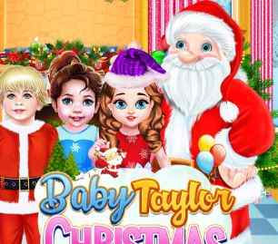 Baby Taylor Happy Christmas Game