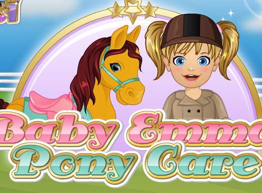 Baby Emma Pony Care Game