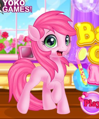 Baby Pony Grooming Makeover Game