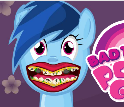 Bad Teeth Pony Game