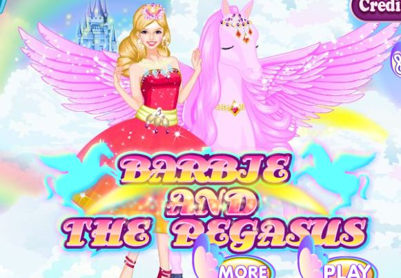 Barbie And The Pegasus Game