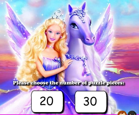 Barbie Jigsaw Puzzle Game
