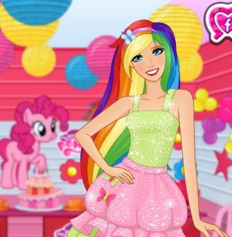 Barbie Meets Equestria Girls Game