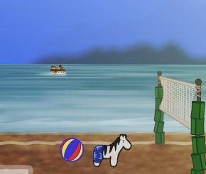 Beach Zebra Game