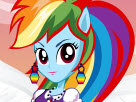 Beautiful Rainbow Dash Game