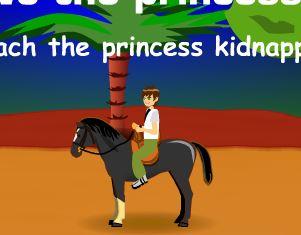 Ben 10 Horse Game