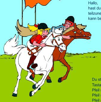 Bibi And Tina Horse Race Game