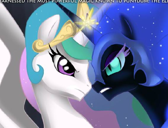 Celestia Against Nightmare Moon Game