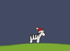 Christmas Zebra Game