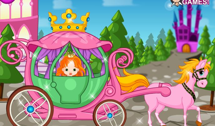 Cinderella And Carriage Game