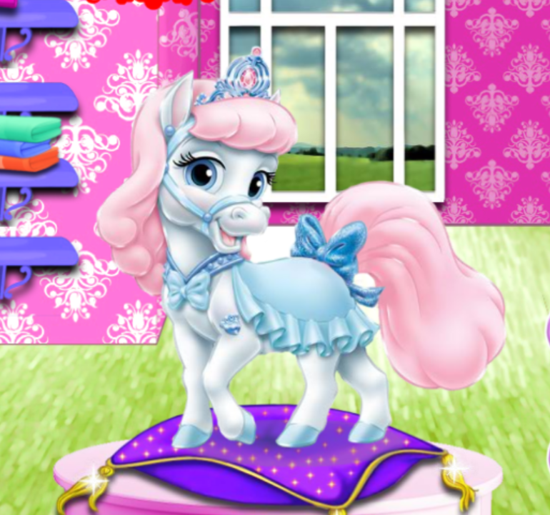 Cinderella Pony Caring Game