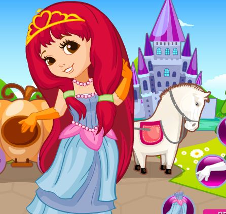 Cinderella Pumpkin Carriage Game
