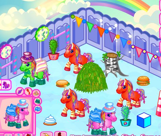 Create Farm For Pony Game