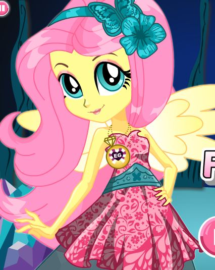Crystal Gala Fluttershy Game