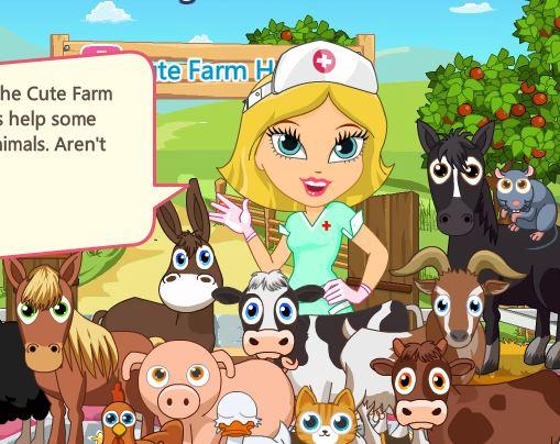 Cute Farm Hospital 2 Game