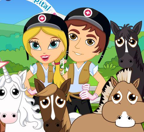 Cute Horse Hospital Game
