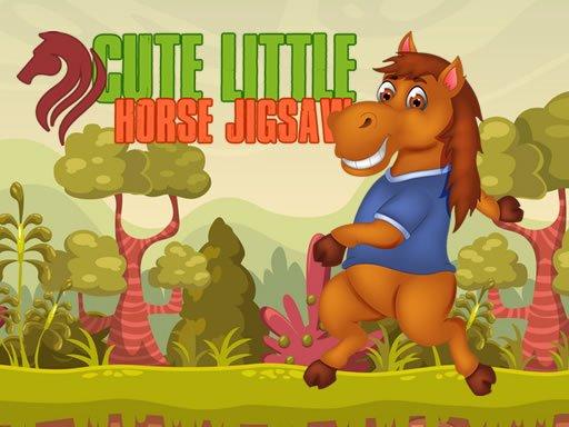 Cute Little Horse Jigsaw New Game