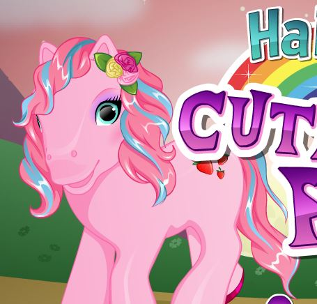 Cute Pony Hairstyles Game