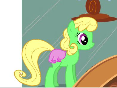 Cute Pony Holding Snacks Game