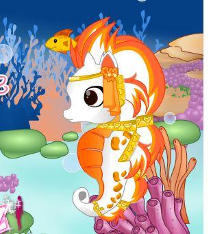 Cute Seahorse Game