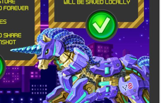 Cyber Unicorn Assembly Game