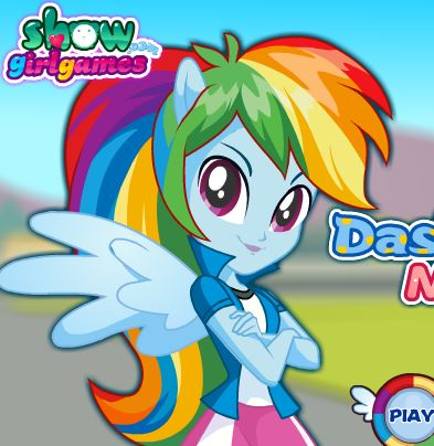 Dashie Pony Makeup Game
