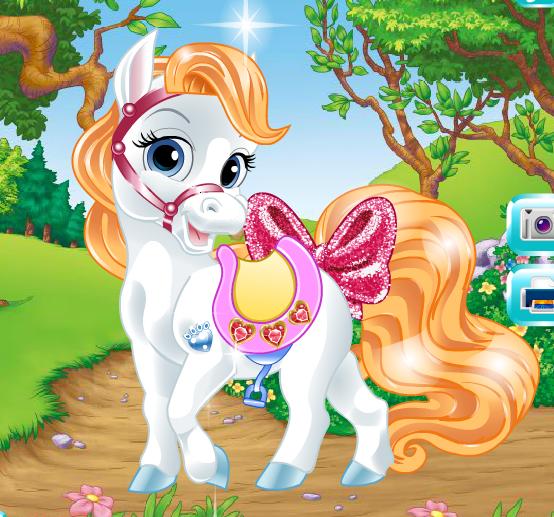 Disney Princess Palace Pets Game