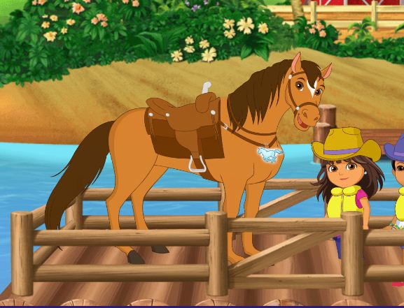 Dora And Friends Daf Lost Horses Game