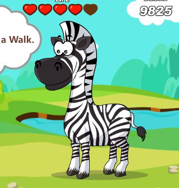 Dora Care Baby Zebra Game