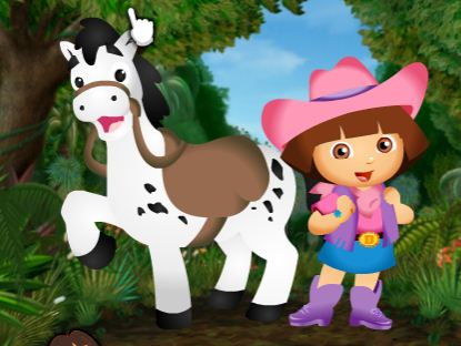 Dora Pony Dress Up 2 Game