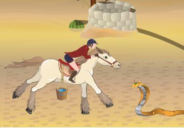 Egyptian Horse Game