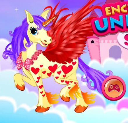 Enchanted Unicorn Spa Game