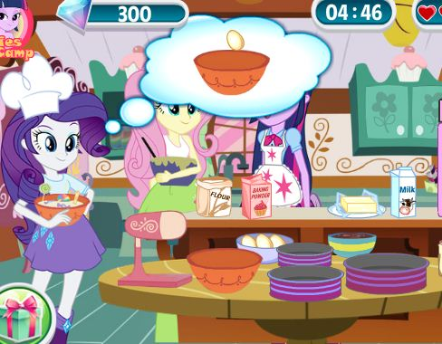 Equestria Cooking Cake Game