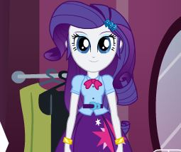 Equestria Girls Magic Wardrobe Game