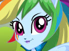 Equestria Girls Rainbow Dash Game