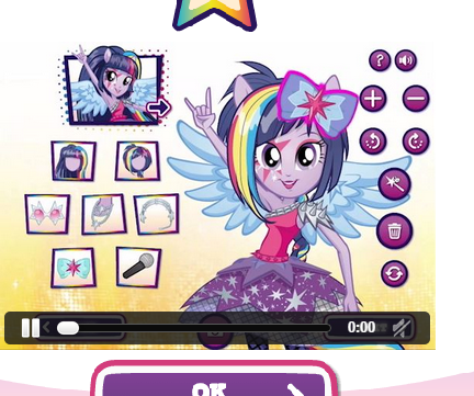 Equestria Girls See Yourself As An Equestria Girl Rockified Game